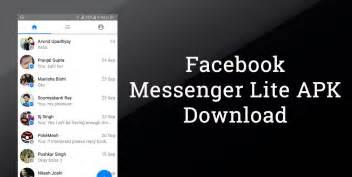 facebook messenger lite apk  android latest version