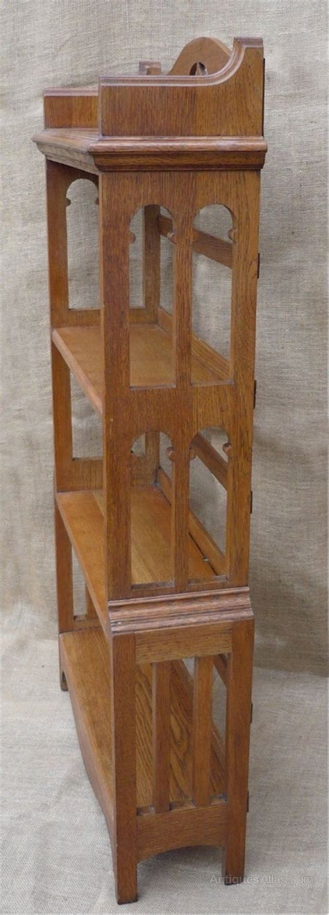 Arts And Crafts Bookcase by Arts And Crafts Bookcase In Golden Oak Antiques Atlas