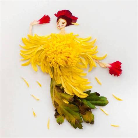 flower art  lim zhi wei feather
