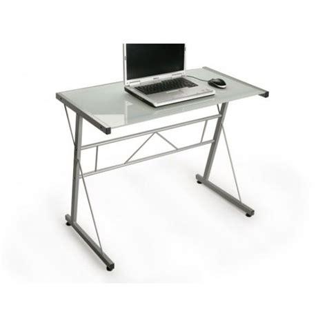 meuble bureau en verre bureau ordinateur verre