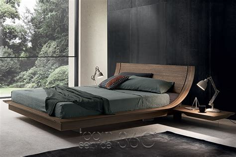 size bed wood aqua platform bed by presotto room service 360