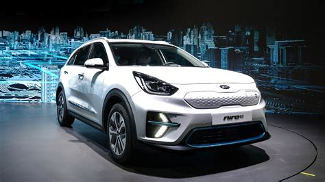production kia niro ev shown  busan autoguidecom news