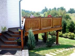 deck railing ideas decks my future home the o jays deck railings and stairs