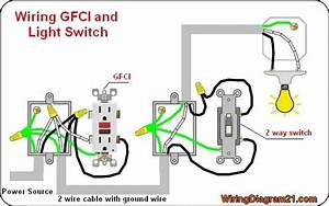 Gfci Outlet Wiring Diagram In 2019