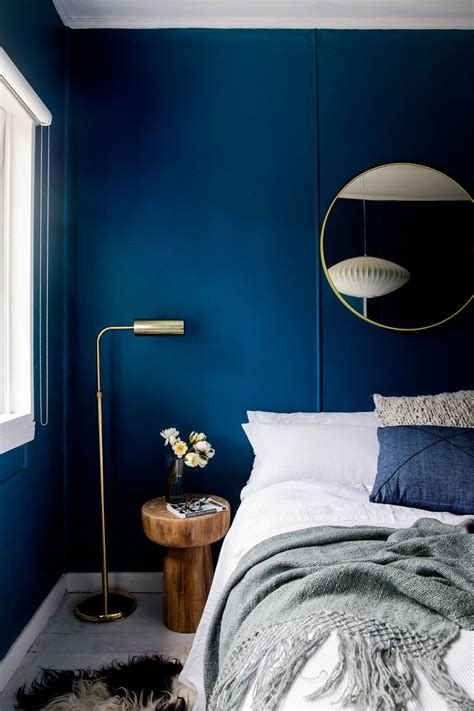 dark blue bedrooms ideas  pinterest blue
