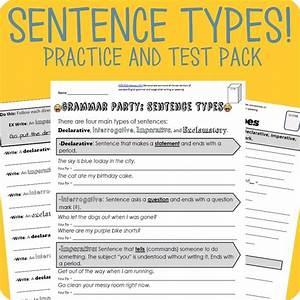 Declarative  Interrogative  Imperative  Exclamatory Packet   Test
