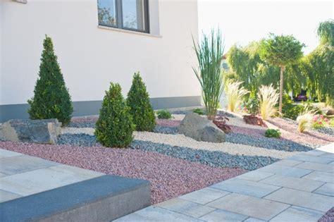 Kiesgarten Dreifarbig Gartengestaltung