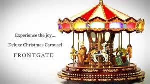 deluxe christmas carousel youtube