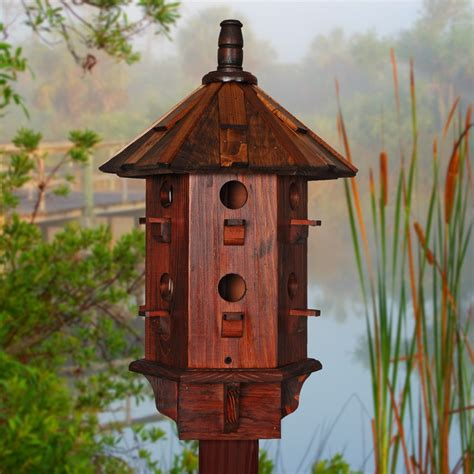 wooden bird house for sale purple martin birdhouses by beegracious
