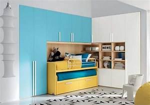 Kinderzimmer In Blau : frische farben f rs kinderzimmer 70 wohnideen in blau ~ Sanjose-hotels-ca.com Haus und Dekorationen