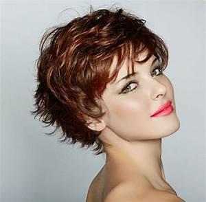 Coupe Courte Cheveux Bouclés : coupe courte femme cheveux boucl s ~ Melissatoandfro.com Idées de Décoration