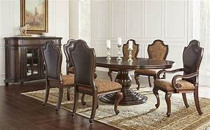 von furniture angelina formal dining room set with round With formal oval dining room sets