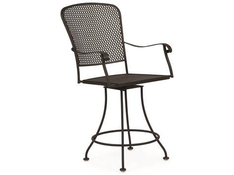 iron counter stools woodard fullerton wrought iron swivel counter stool 2z0069 1928