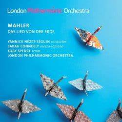 Gustav MAHLER Das Lied von der Erde LONDON PHILHARMONIC ORCHESTRA LPO0073 [JQ] Classical