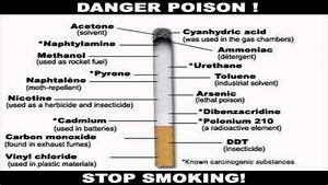 Health Dangers In Smoking