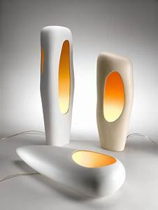 Modern Ceramic Lamps By Mamati - DigsDigs