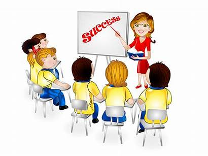 Clipart Training Staff Employee Trained Meeting Sales