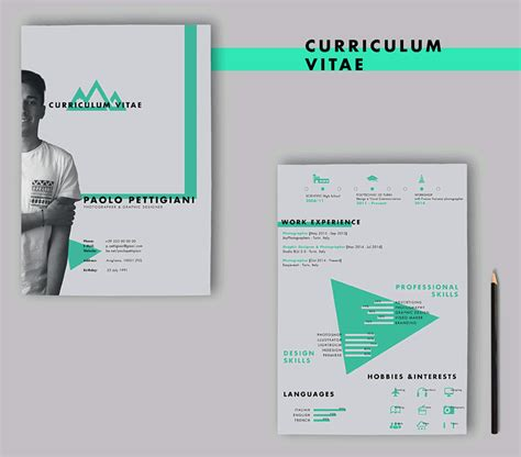Designers Cv Template 20 beautiful free resume templates for designers