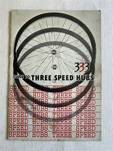 Guide To Three Speed Hubs 333 Shimano Bicycle Overhaul