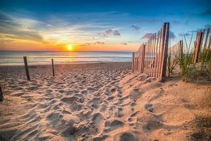 Outer Banks Carolina North Ocean Sunrise Atlantic