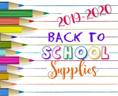 school supply lists richmond xvi school district