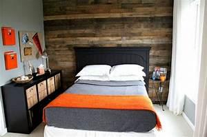 8 paredes revestidas con palets Bricolaje