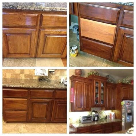 add   cabinets stained colors