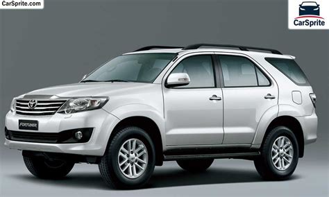 Toyota Fortuner 2017 Prices And Specifications In Qatar