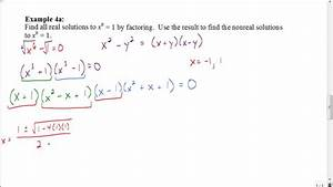 Lesson 7.8 Part 3: Find all solutions by factoring - YouTube