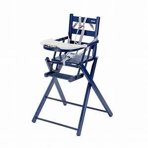 Chaise Bleu Marine : chaise haute extra pliante sarah laqu bleu marine combelle pour chambre enfant les enfants ~ Teatrodelosmanantiales.com Idées de Décoration