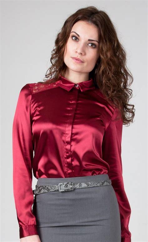blouson blouse satin and lace blouse satin blouse