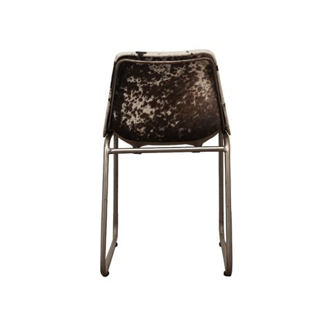 Cowhide Dining Chairs Uk by Industrial Leather Or Cowhide Dining Chair Retro Vintage