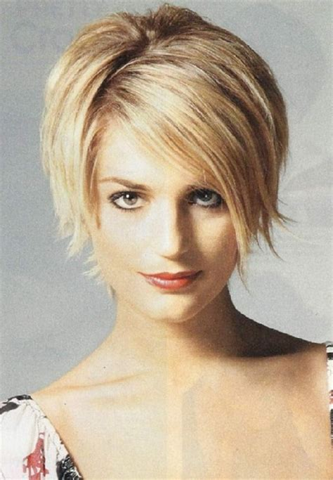short hairstyles  women  faces