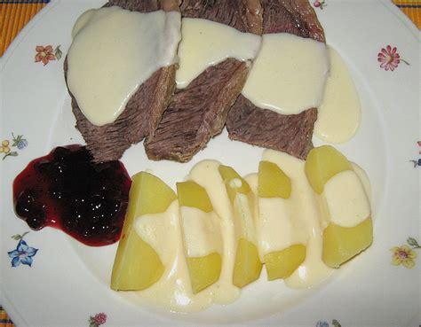 rindfleisch mit meerrettichsoße rindfleisch mit meerrettichso 223 e rezept mit bild
