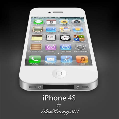 iphone 4s iphone 4s white by glaskoenig201 on deviantart