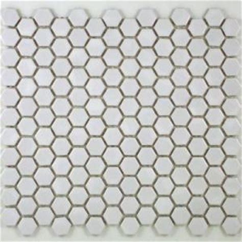 home depot merola hex tile merola hex bathroom floor mosaic porcelain tile from home