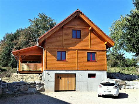 chalet et maison en bois lutz fabricant de chalets bois en alsace maisons bois lutz