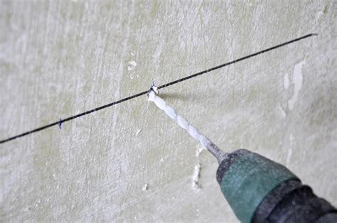 percer un mur en b 233 ton