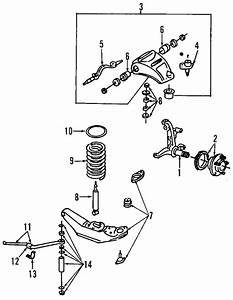 Front Suspension For 2000 Lincoln Town Car