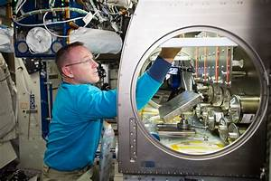 """NASA astronaut Barry """"Butch"""" Wilmore setting up the Rodent ..."""