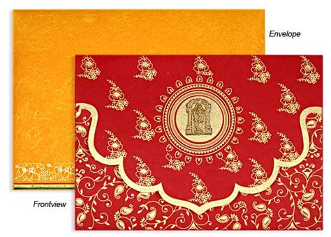 South Indian Wedding Invitations By Awc