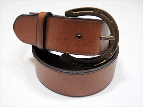 Nwt Ralph Lauren Polo Mens Leather Belt Brown New!