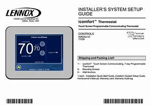 Lennox Humidity Sensor Wiring Diagram