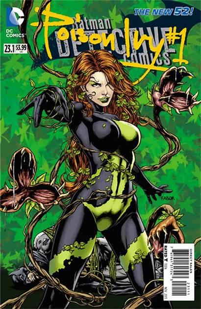 Villain Month Comics Dc Ivy Poison Evil