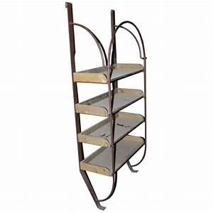 Etagere En Fer Pour Garage : etag re mural en fer forg et bois boutique kaliakoudas ~ Edinachiropracticcenter.com Idées de Décoration