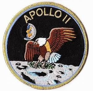 Patch Ecusson NASA Mission APOLLO 11 Thermocollant | eBay