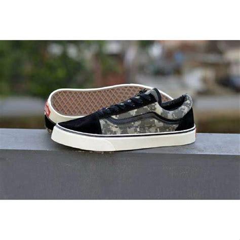 jual sepatu skate pria vans oldskool digital camo 3 varian di lapak rr shoes rizal rudiansyah