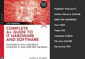 Complete Comptia A  Guide To It Hardware And Software Lab