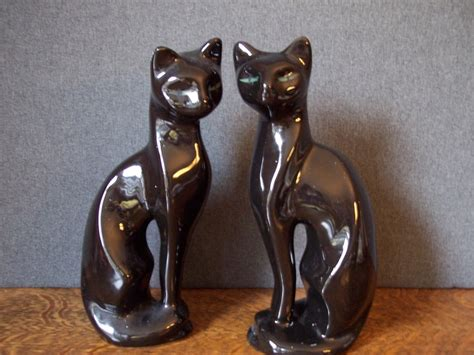 1000+ Images About Mid Century Modern Cat Figurines