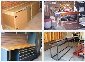 7 Workbench Ideas for Garage - Integrated Home Design